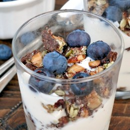 Easy Fruit & Nut Parfait | alidaskitchen.com