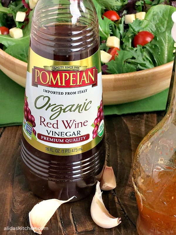 The Best Red Wine Vinagrette Recipe | alidaskitchen.com