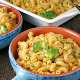 Broccoli Cheddar Mac & Cheese | alidaskitchen.com