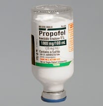 ed procedural sedation with Propofol