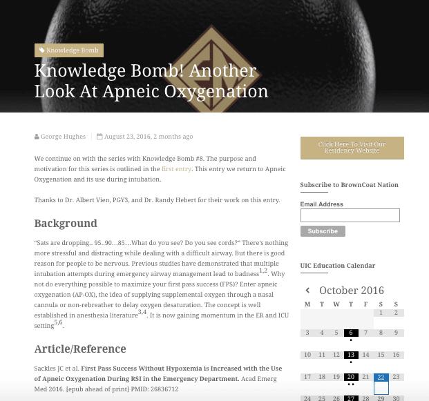 knowledge bomb