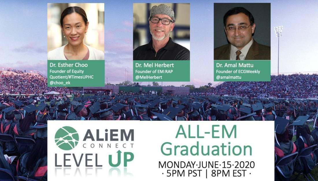 all-EM residency graduation emergency medicine speakers