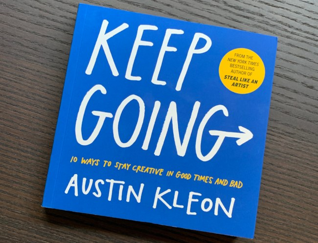 Keep Going book club Leader's Library