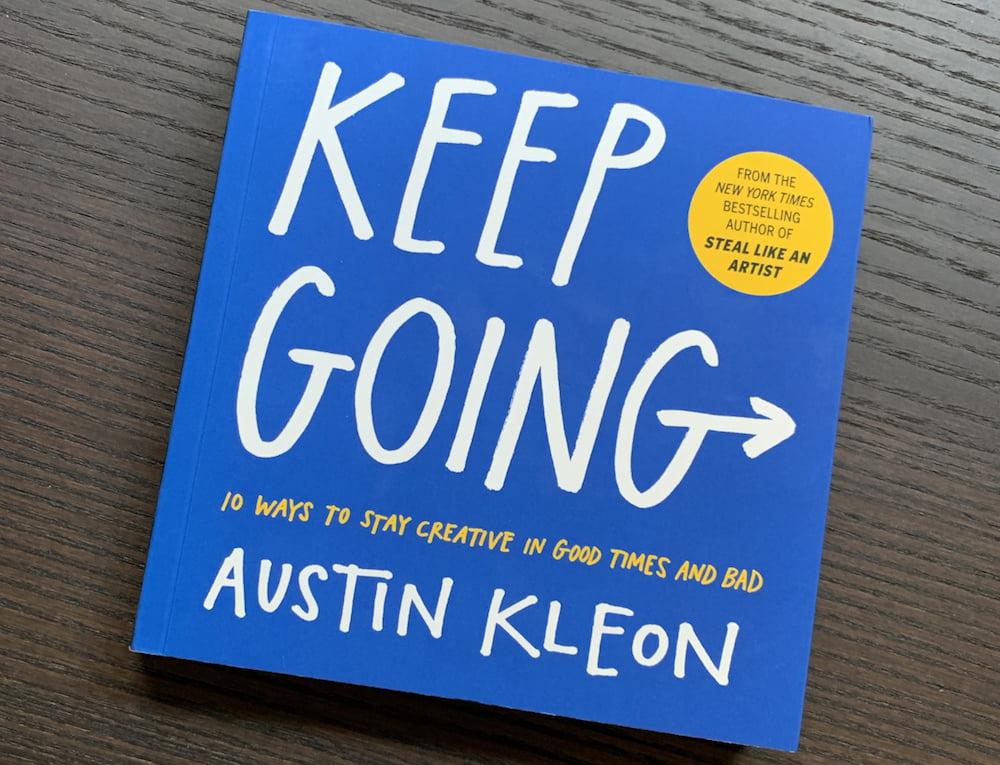keep going book