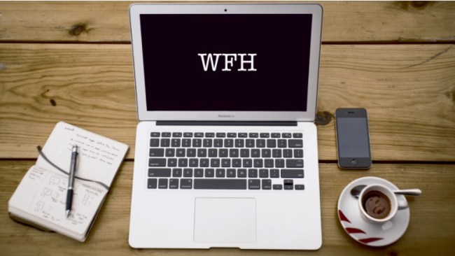 working from home WFH efficiency