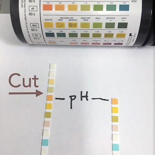 UrineDipstick pH white balance SM
