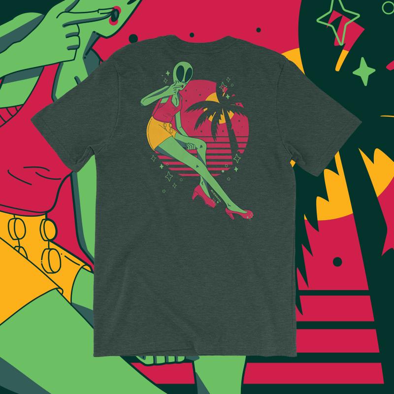 Alien Babe T-Shirt