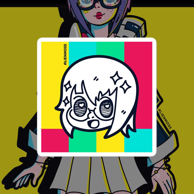 Doodle ViKI Sticker