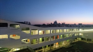 Collège Alienor d'Aquitaine le matin