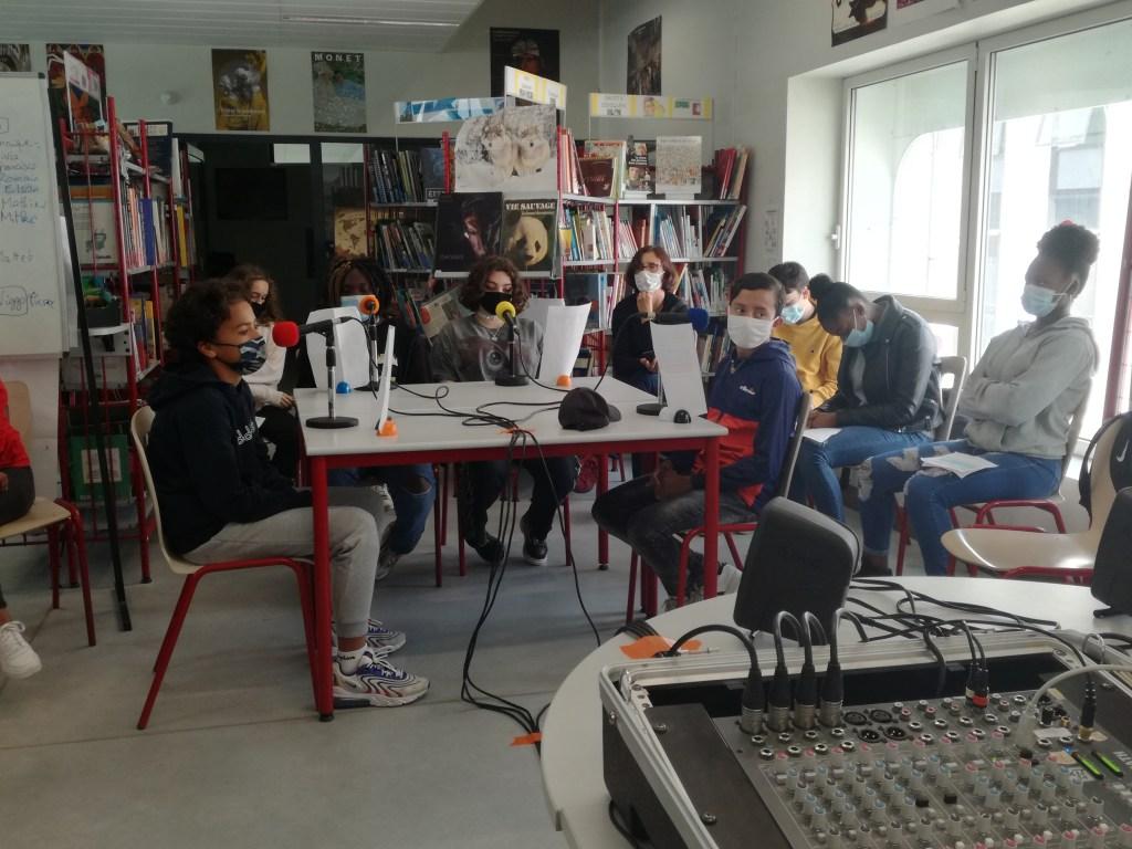 Classe radio 3°6 - Collège Aliénor d'Aquitaine - Bordeaux