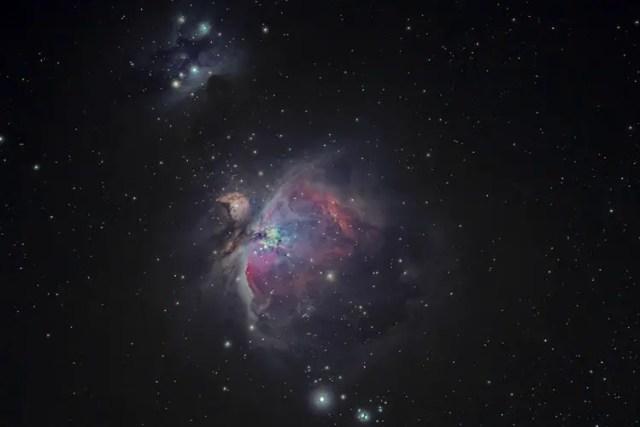Orion Nebula clicked by backyard astronomer