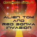 Red Alien Invasion Eurobar April 2012