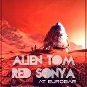 red alien invasion attack