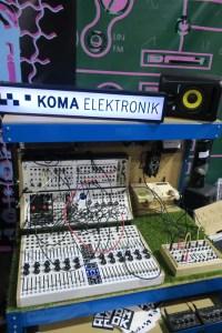 Koma Elektronik Display with Mixer