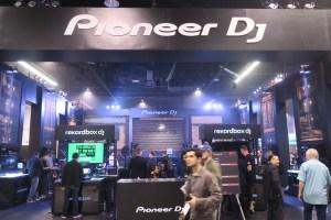 Pioneer DJ Booth NAMM Show 2018