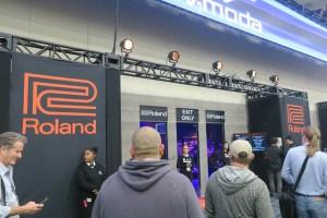 Roland Booth NAMM 2018