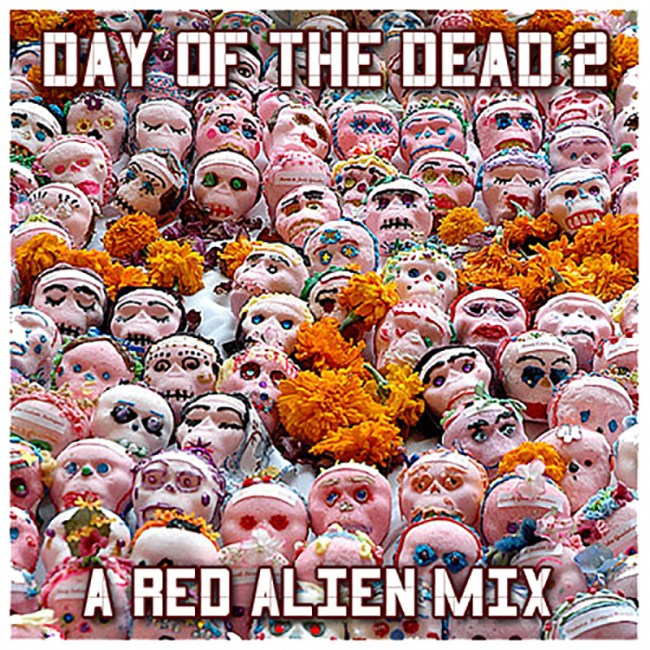 day of the dead 2 - a red alien mix