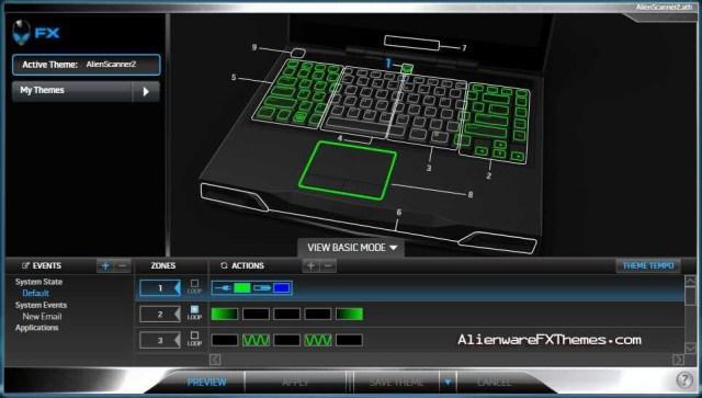 AlienScanner 2 M14x Alienware FX Theme