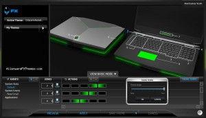 AlienScanner M18x Alienware FX Theme