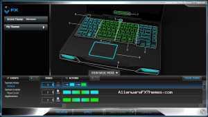 Swamp Green M14x Alienware FX Theme