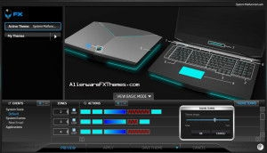 System Malfunction M18x Alienware FX Theme