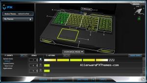 Radioactive Flow M17x R3 R4 Alienware FX Theme 3