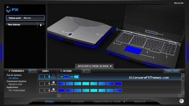 Blue Ice by Azazhel Alienware 17 Theme