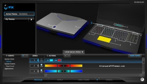 Fire And Ice by Azrael Alienware 17 FX Theme