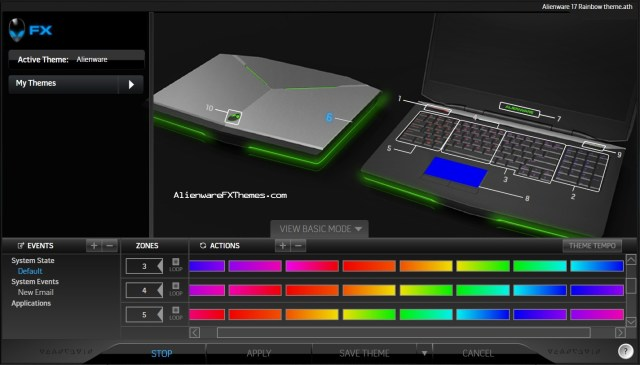 Rainbow By Alex Alienware 17 Fx Theme