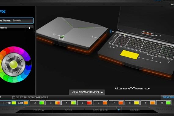 RastAlien By Littlenoob Alienware M18x Fx Theme
