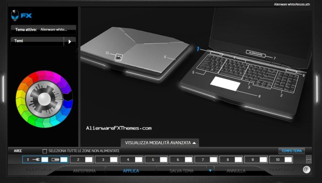 White FX By Alessio Alienware 17 Fx Theme
