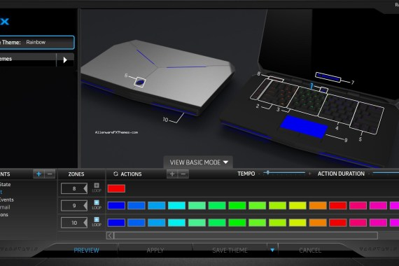 Rainbow By Mike Alienware 15 R2 Theme