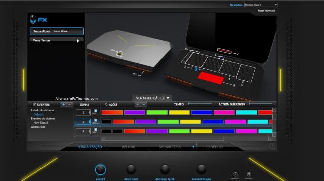 ColorWave By Felipe Alienware 15 R2 Fx Theme