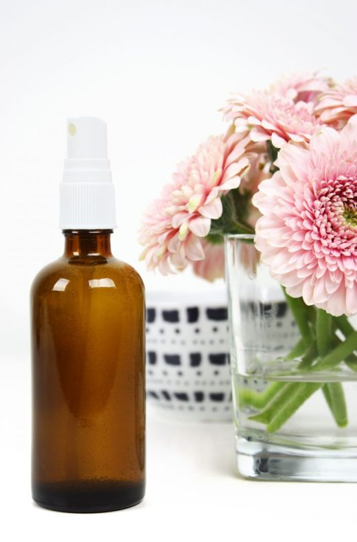 Natural DIY essential oil room spray