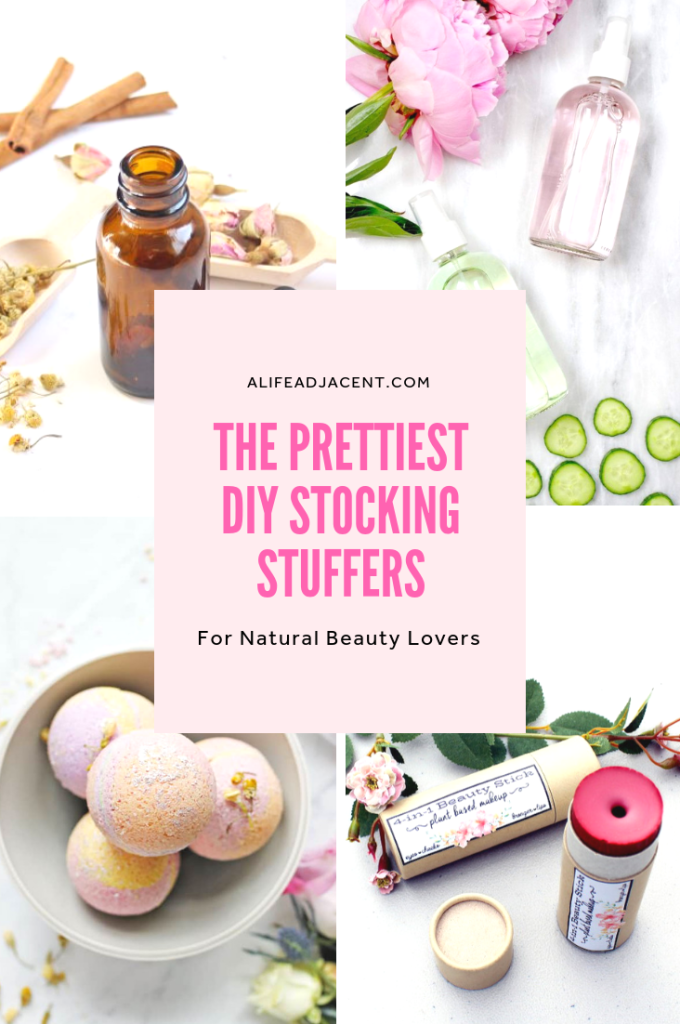 The prettiest DIY natural beauty stocking stuffers