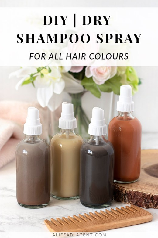 Dry shampoo spray for all hair colours