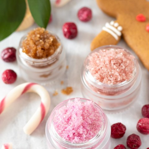 DIY Holiday Lip Scrubs for Soft Winter Lips