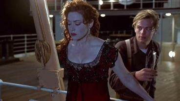Image result for titanic the movie kate and leo suicide attempt