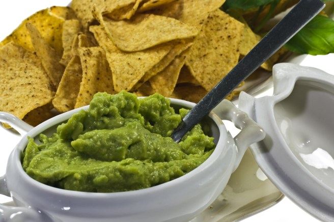 Guacamole with lemon