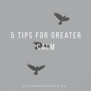 5 Tips to Start Living With Greater CALM Today