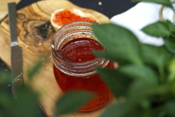 This chilli jam is a kitchen staple in our house. It goes with everything! | www.alifeofgeekery.co.uk