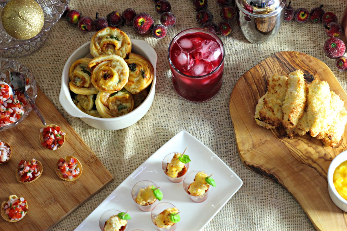 Christmas Party Nibbles Ideas Part - 21: Four Christmas Party Nibbles