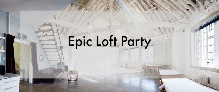 A private house party, but you're invited
