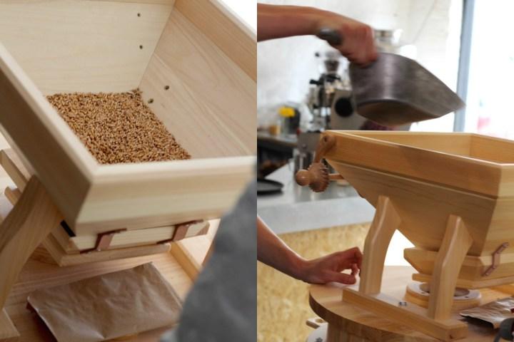 milling flour at silo