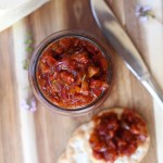 chorizo jam spread for cheese boardschorizo jam spread for cheese boards
