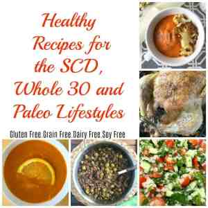 Easy and delicious recipes free of gluten, grains, soy, refined sugar and dairy! These healthy recipes follow the SCD, Whole30 and paleo lifestyles.