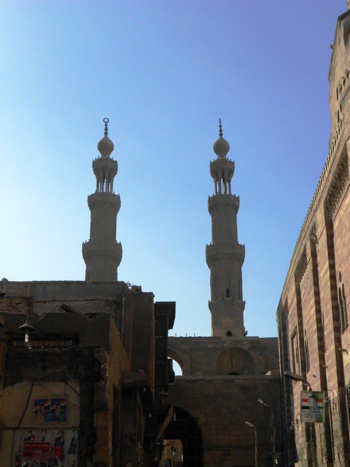 Bab ZuweilaTwin minarets