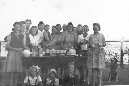 Behind The Scenes - Tea Ladies ... July 1946