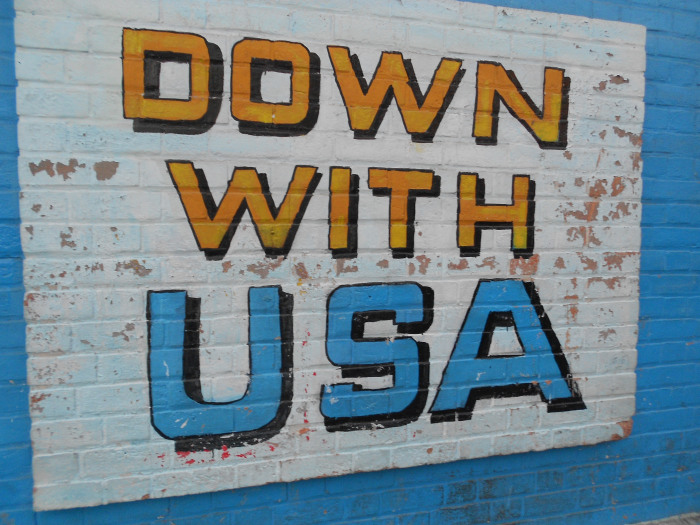 down with usa