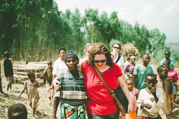 Walking with Batwa of Burundi // Photo Credit: Tina Francis